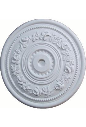 Propiyer Tavan Lamba Göbeği - Gül 40 cm