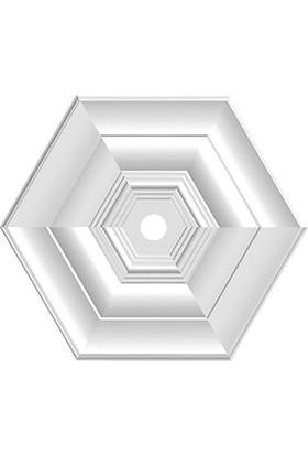 Propiyer Tavan Lamba Göbeği - Altıgen 50 cm