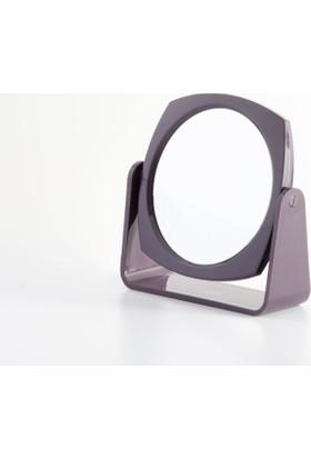 Madame Coco Çift Yüzlü Makyaj Aynası - Koyu Mürdüm