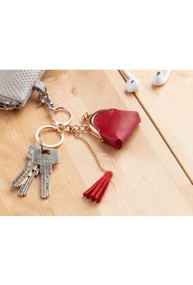Madame Coco Çanta Figürlü Anahtarlık - Kırmızı