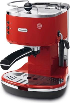 Delonghi ECO311.R Icona Espresso ve Cappuccino Makinesi