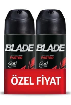 Blade Faster 2'li Erkek Deodorant 150 ml