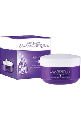 Huncalife Skin Magnifique Gece Kremi 50 ml