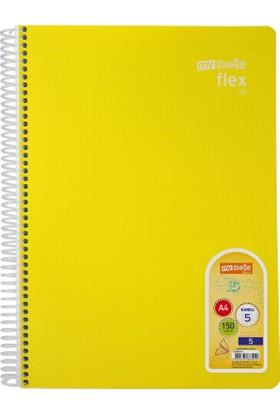 Mynote Flex All 5 Defter A4 150 Yaprak Kareli