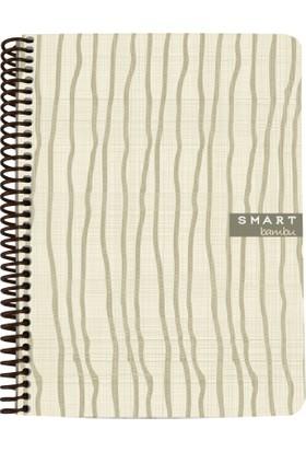 Mynote Smart Bambu Spiralli PP Defter A5 80 Yaprak Çizgili