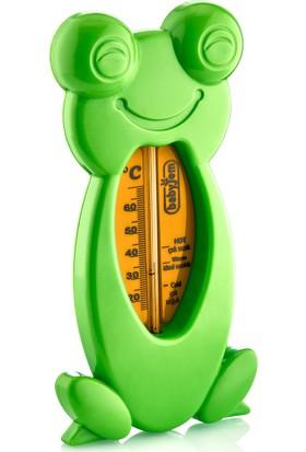 Babyjem Kurbaga Banyo&Oda Termometresi Yeşil