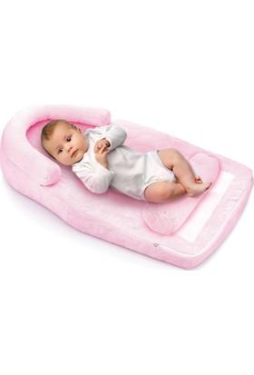 Baby Jem Reflu Ve Düz Kafa Yastığı Pembe