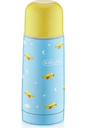BabyJem Bebek Termosu 350 ml / Mavi
