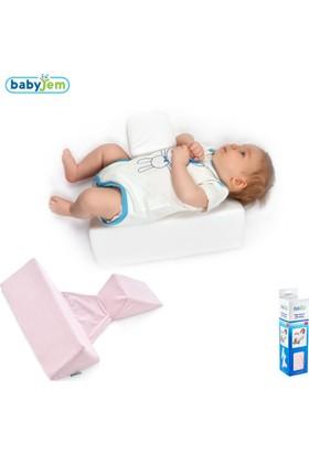 BabyJem Güvenli Uyku Yastığı / Pembe