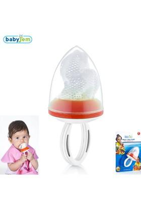 BabyJem Meyve Sebze Emziği / Turuncu