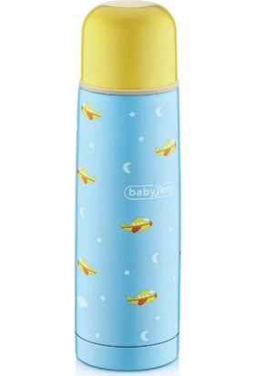BabyJem Bebek Termosu 500 ml / Mavi