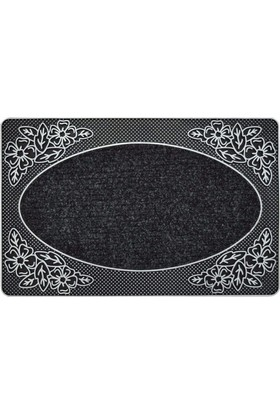 B'Home B'Home Garden Kapı Önü Paspas Halılı 45x70 cm Gümüş
