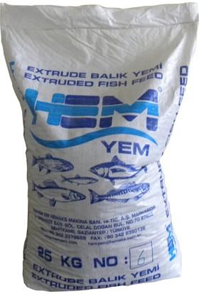 Hemyem Alabalık Tam Yemi Yüksek Protein 6Nm