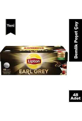 Lipton Demlik Poşet Çay Earl grey 48'Li