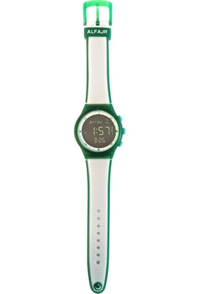 Alfajr Wy-16 Green_Whıte Unisex Kol Saati