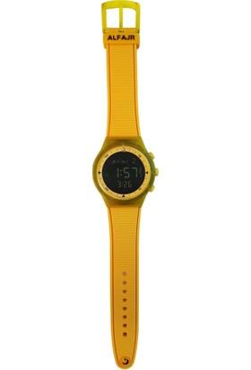Alfajr Wy-16_Yellow Unisex Kol Saati