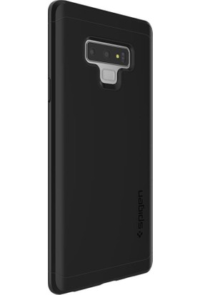 Spigen Samsung Galaxy Note 9 Kılıf Thin Fit 360 Black (Cam Ekran Koruyuculu) - 599CS24581