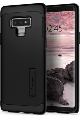 Spigen Samsung Galaxy Note 9 Kılıf Slim Armor Midnight Black - 599CS24504