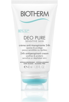 Biotherm Deo Pure Sensitive Krem Deodarant 40 ml