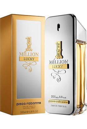 Paco Rabanne One Million Lucky Edt 200 ml Erkek Parfümü