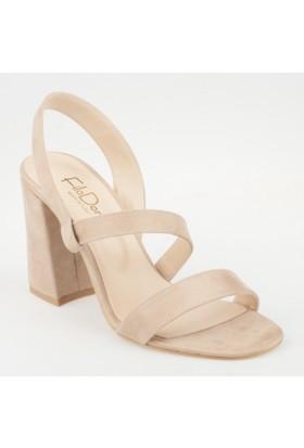 Filodonna Kadın Topuklu Sandalet