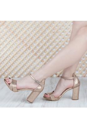 Mıtto Kadın Topuklu Sandalet