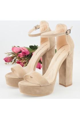 Elvera Kadın Platform Topuklu Sandalet