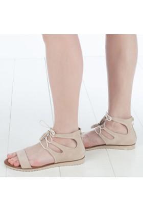 Pabuç Butik Kadın Düz Sandalet