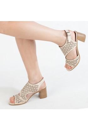 Filiz Kadın Topuklu Sandalet