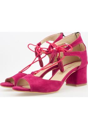 Pabuç Butik Kadın Topuklu Sandalet