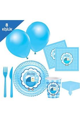 Roll-Up Its a Boy Parti Seti 8 Kişilik