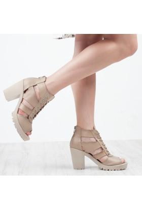 Sms Kadın Platform Sandalet