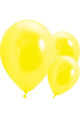 Metalik Sarı Balon