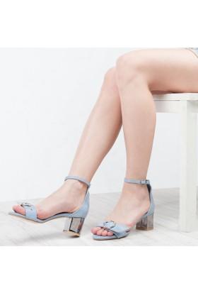 Mell Butti Kadın Topuklu Sandalet