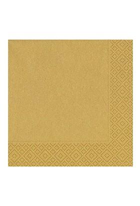 Roll-Up Altın Kağıt Peçete 33cm x 33cm