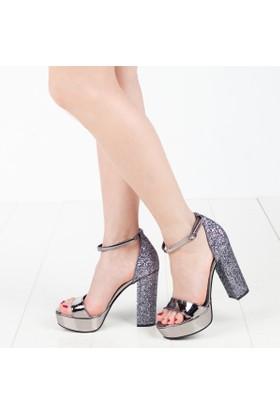 Primo Passo Kadın Topuklu Sandalet
