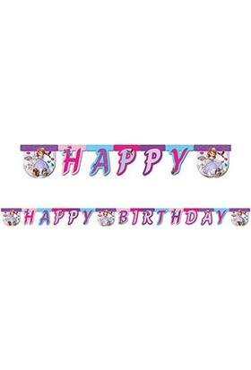 Sofia Deniz İncisi Happy Birthday Harf Afiş