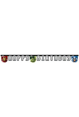 Avengers Power Happy Birthday Harf Afiş
