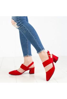 Palmiye Kadın Klasik Topuklu Ayakkabı