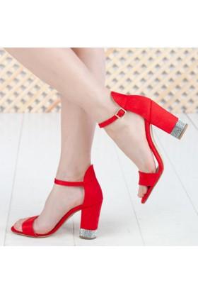Hakan Kadın Topuklu Sandalet