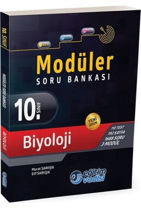 Eğitim Vadisi Yayınları 10. Sınıf Biyoloji Modüler Soru Bankası