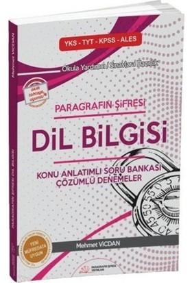 Paragrafın Şifresi Dil Bilgisi Konu Anlatımlı Soru Bankası Paragrafın Şifresi Yayıncılık