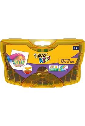 Bic Pastel Boya 12 Renk Plastik Kutu