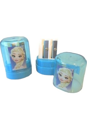 Frozen Çift Hazneli Kalemtraş