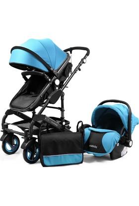 Mixi Baby Travel Sistem Bebek Arabası