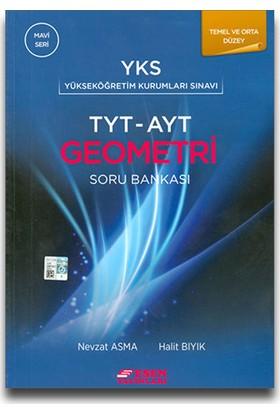 Esen Yayınları YKS TYT-AYT Geometri Soru Bankası Mavi Seri