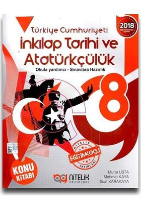 Nitelik 8. Sınıf T.C. İnkılap Tarihi Ve Atatürkçülük Konu Anlatımlı