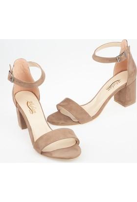 Akalan Kadın Topuklu Sandalet