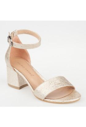 Primo Passo Aktenli Kadın Topuklu Sandalet