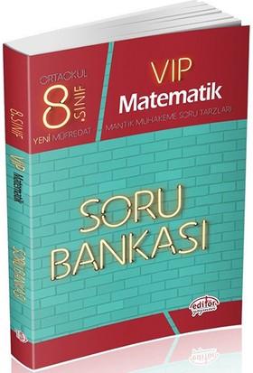 Editör Yayınları 8. Sınıf LGS VIP Matematik Soru Bankası